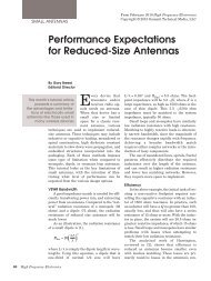 Performance Expectations for Reduced-Size Antennas
