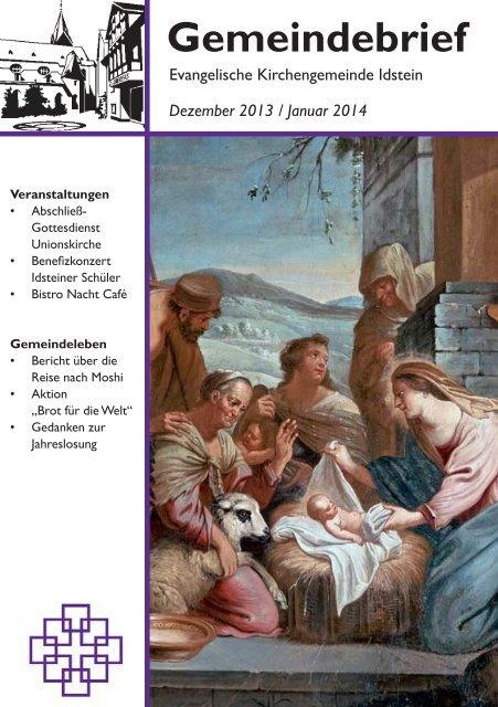Gemeindebrief - Evangelische Kirchengemeinde Idstein