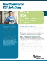 Considering EDI? - HighJump Software, Inc.