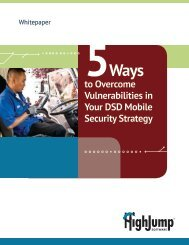 to Overcome Vulnerabilities in Your DSD Mobile Security Strategy
