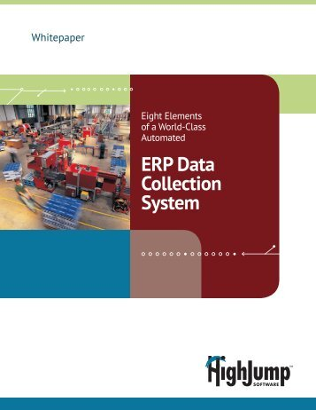ERP Data Collection System - HighJump Software, Inc.
