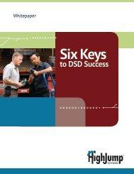 Six Keys to DSD Success - HighJump Software, Inc.
