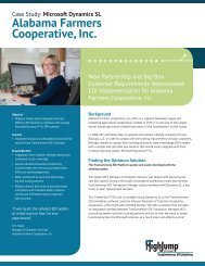 Alabama Farmers Cooperative Case Study (PDF) - HighJump ...