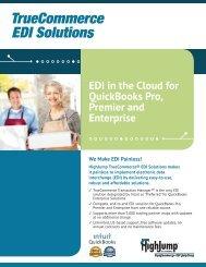 EDI in the Cloud for QuickBooks Pro, Premier and Enterprise