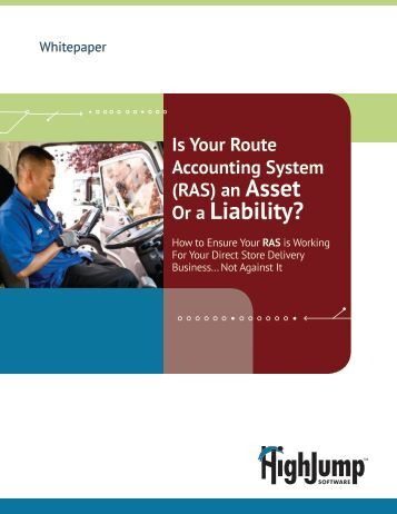Is Your Legacy RAS an Asset or Liability? - HighJump Software, Inc.