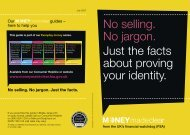 Just the facts about proving your identity - The Highland Council
