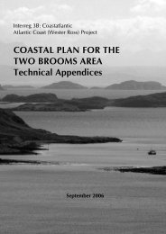 Technical Appendices - The Highland Council