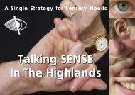 A Single Strategy for Sensory Needs - The Highland Council