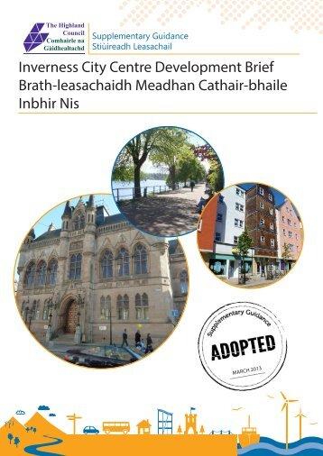 Inverness City Centre Development Brief - The Highland Council