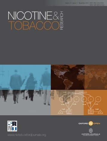 Front Matter (PDF) - Nicotine & Tobacco Research - Oxford Journals