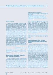 Das Dravet-Syndrom (DS): neue Erkenntnisse – bessere und ...
