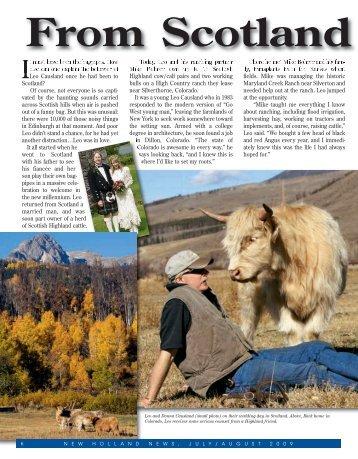 newest Jan/Feb news - American Highland Cattle Association
