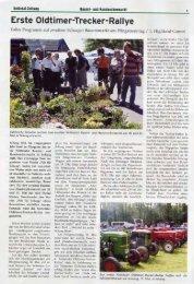 Erste Oldtimer-Trecker-Rallye - 1. Nettetaler Highlander Verein eV