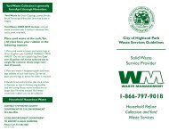 Waste Services Guidelines - The Official Website of the City of ...