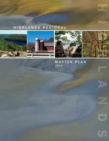 Highlands Regional Master Plan - New Jersey Highlands Council