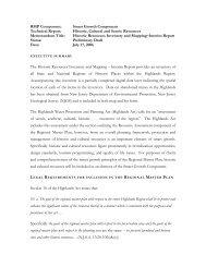 RMP Component: - New Jersey Highlands Council