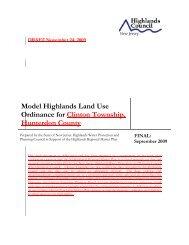 Module 6 Highlands Land Use Ordinance - New Jersey Highlands ...