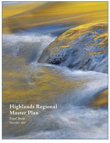 Regional Master Plan Final Draft (color, 31.5 MB pdf) - New Jersey ...