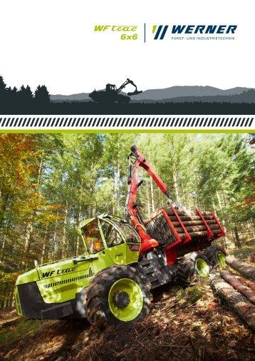 Der NEUE WF-trac 6x6 Prospekt als kostenloser PDF Download
