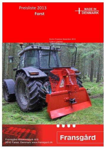 Preisliste 2013 Forst - Kranich GmbH