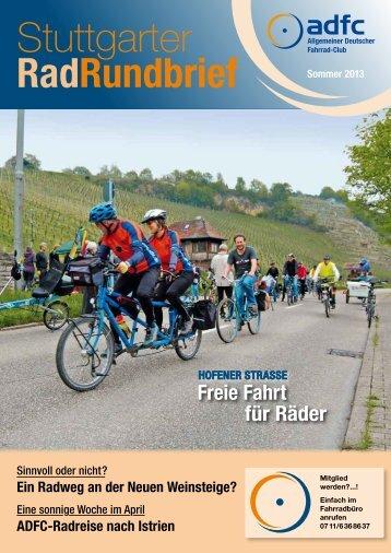 Stuttgarter RadRundbrief - ADFC