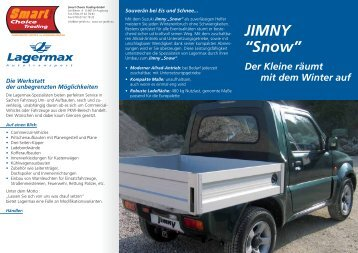 "Download: PDF Infoblatt Suzuki Jimny ""Snow"""