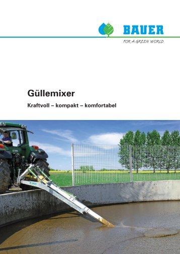 Bauer Guellemixer - Lagerhaus