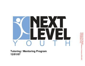 to download a flyer outlining NLY's mentoring program. - Borough of ...