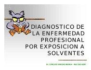 Dr. CARLOS VARGAS MARIA – Md. ESO-EMT - HO - Higiene ...
