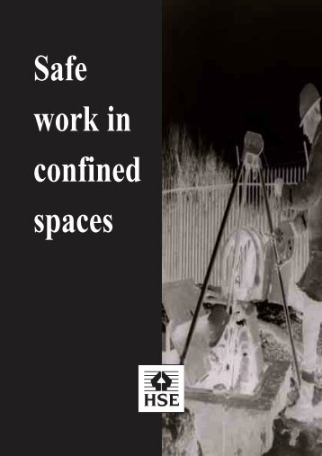 INDG258 Safe work in confined spaces - County Safety Services