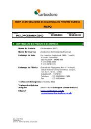 DICLOROETANO (EDC) - HO - Higiene Ocupacional