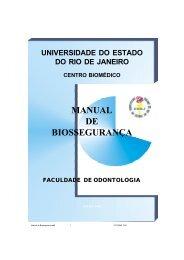 D:\UERJ\Manual de Biossegurança - Faculdade de Odontologia - Uerj