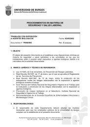 UNIVERSIDAD DE BURGOS - HO - Higiene Ocupacional
