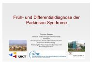 Früh- und Differentialdiagnose der Parkinson-Syndrome