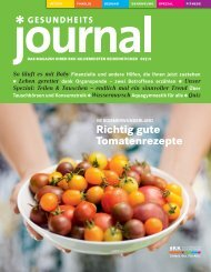 Journal Ausgabe 02/2013 (PDF 5,98 MB) - BKK Gildemeister ...
