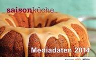 Mediadaten 2014 - Saisonküche