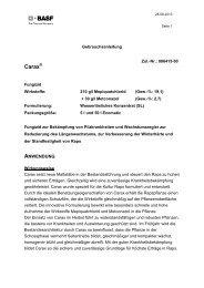 GA Carax - BASF Pflanzenschutz Deutschland