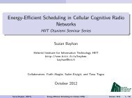 Energy-Efficient Scheduling in Cellular Cognitive Radio Networks