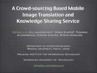 A Crowd-sourcing Based Mobile Image Translation and Knowledge ...