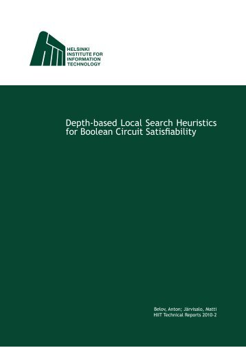 Depth-based Local Search Heuristics for Boolean Circuit Satisfiability