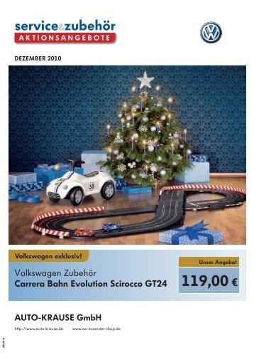 Zubehörangebot - Auto-Krause GmbH