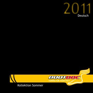 Sommer Kollektion 2011 - Boot Doc