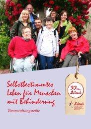 Selbstbestimmtes Leben für Menschen mit Behinderung - Siloah