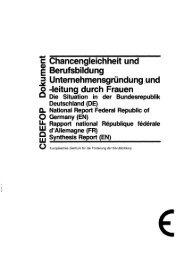 Unternehmensgrlindung und o -leitung durch Frauen - Archive of ...
