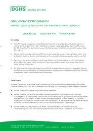 DGHS-Grundsatzprogramm, Juni 2013 (pdf) - Deutsche Gesellschaft ...