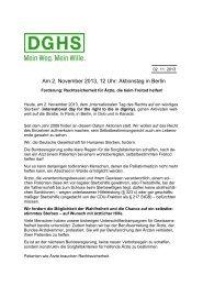 Rede (pdf) - DGHS