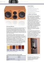 Avanti Center - Audio Physic