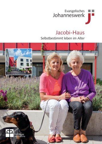 JW-Hausbroschüre Jacobi-Haus - Johanneswerk