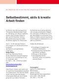 Selbstbestimmt, aktiv & kreativ Arbeit finden - bba - Seite 2
