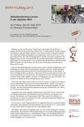 fachtagflyer2013_2rz.pdf - Bundesverband der Freien ...